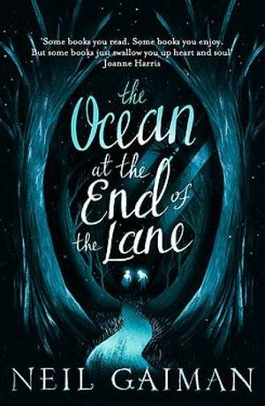 Book cover for The Ocean at the End of the Lane