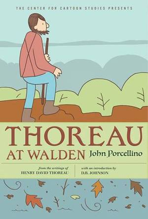 Book cover for Thoreau at Walden